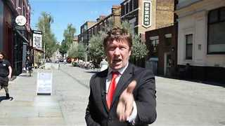 Fake News Reporter Jonathan Pie Doesn't Want to Keep Calm and Carry On - Video