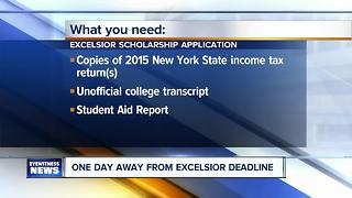 Deadline for the Excelsior Scholarship quickly approaches - Video