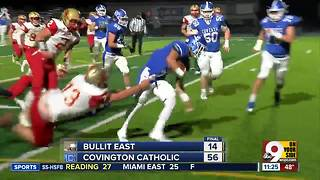 Covington Catholic 56, Bullitt East 14 - Video