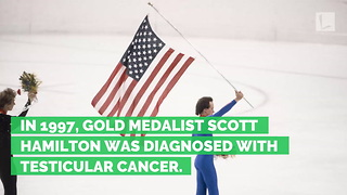 Olympian Scott Hamilton Updates Fans on Lifelong Cancer Battle - Video