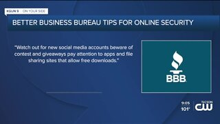 Better Business Bureau warning about online scams