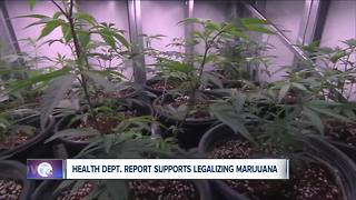 State health department report supports legalizing recreational marijuana - Video