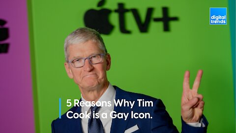 5 Reasons why Tim Cook is a Gay icon