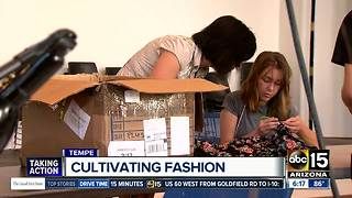 Tempe incubator helping fashion designers thrive in Arizona - Video