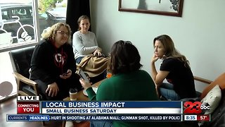 Small Business Saturday kicks off in Downtown Bakersfield - Video