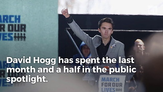 Kashuv Sends Hogg Blunt Message About His Public Whining - Video