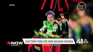Local dad tricks out rides for kids this Halloween - Video