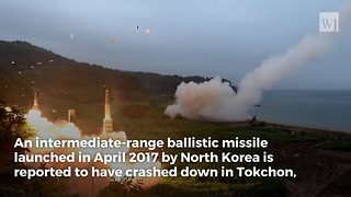 North Korea Accidentally Hit Its Own City During Failed 2017 Missile Test - Video
