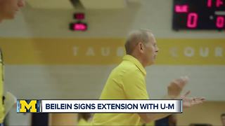 John Beilein signs contract extension with Michigan Basketball through 2022-23 - Video