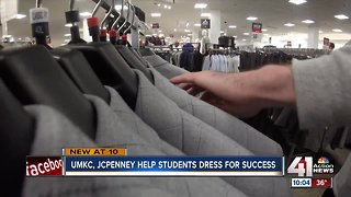 UMKC students 'Suit Up' for success with help from J.C. Penney