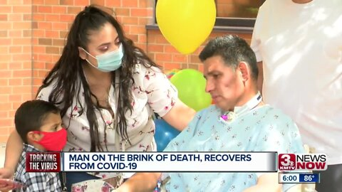 Man on the brink of death, recovers from COVID-19