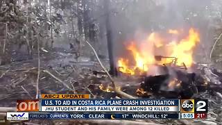 U.S. helping investigate Costa Rica plane crash