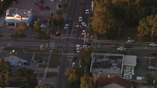 Action Air 1 over St. Pete officer-involved shooting investigation