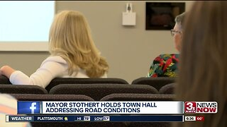 Mayor discusses pot hole concerns
