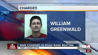 Man Charged in Road Rage Beating - Video