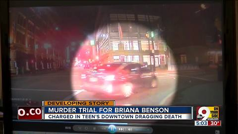 Briana Benson trial: Uber driver video released from night of Madie Hart's death
