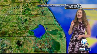 Latest South Florida Weather - 6 PM