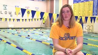 Katie Pollock representing Lockport at States - Video