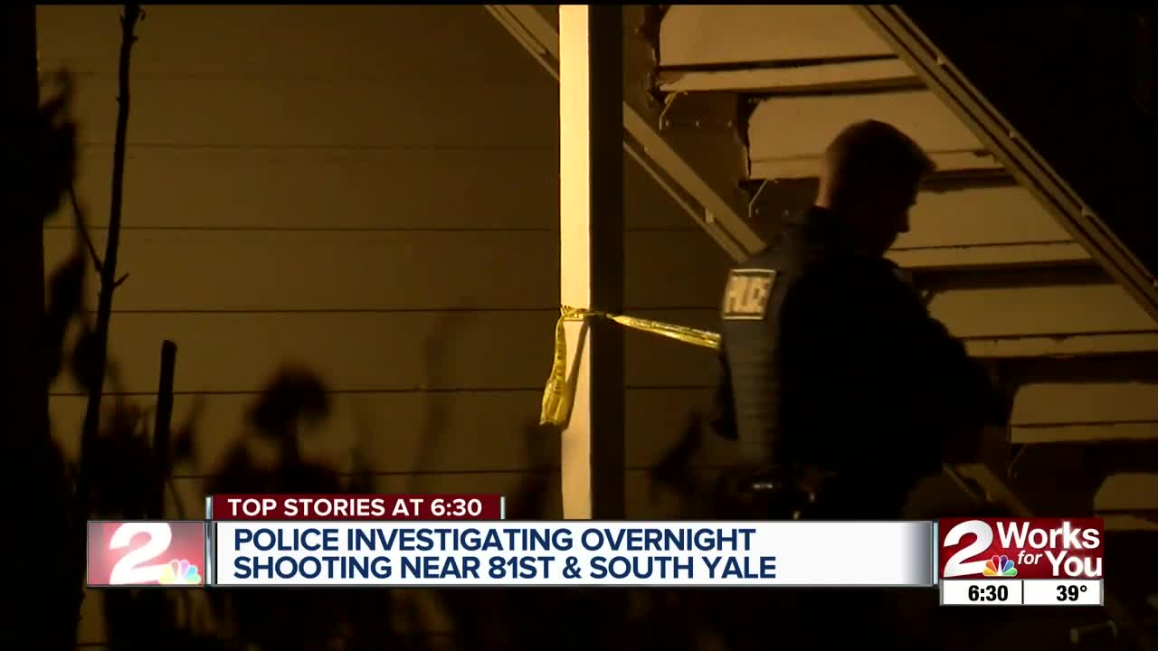 Police investigating overnight shooting near 81st, South Yale