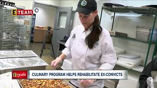 Culinary program helps rehabilitate ex-convicts - Video
