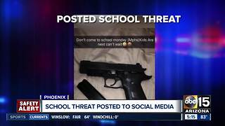 Police investigating Mountain Pointe High School threat