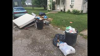 Lorain neighbors fed up over the piles of trash in their neighborhood - Video