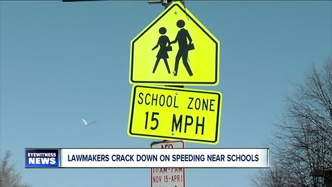 Buffalo City and State lawmakers crack down on speeders in school zones