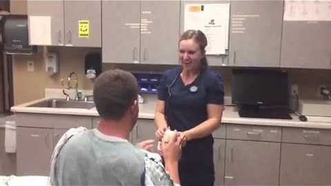 Hospital Scare Turns Into Surprise Marriage Proposal