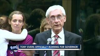 State Superintendent Evers to run for Wisconsin governor - Video
