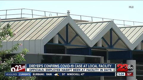 Dreyer's confirms coronavirus case