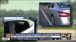 Road rage leads to attack on Eastern Shore - Video