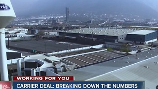 Carrier deal: Breaking down the numbers - Video