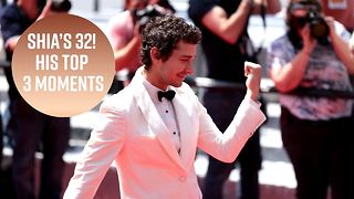 Happy Bday Shia LeBeouf! His Top 3 glorious moments - Video