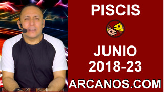 HOROSCOPO PISCIS-Semana 2018-23-Del 3 al 9 de junio de 2018-ARCANOS.COM - Video