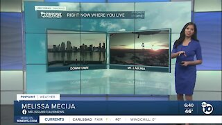 ABC 10News Pinpoint Weather for Sun. Jan. 31, 2021