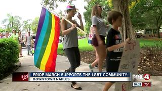 Pride March in Naples for the LGBTQ Community - Video