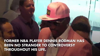 Dennis Rodman Describes 'Cool Things' He Does With North Korean Dictator - Video