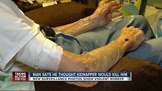 Exclusive: 93-year-old victim speaks about kidnapping, robbery - Video