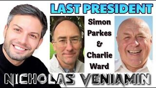 NICHOLAS VENIAMIN, SIMON PARKES WITH CHARLIE WARD - THE LAST PRESIDENT - NOT TO BE MISSED