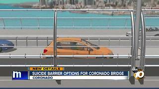 Suicide barrier options for Coronado Bridge - Video