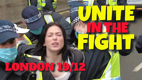 UNITE IN THE FIGHT RALLY, LONDON, ENGLAND - 19TH DECEMBER 2020