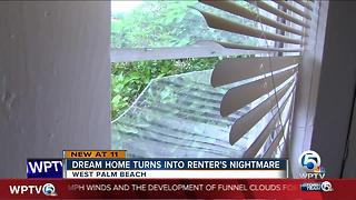 Dream home turns into a renter's nightmare - Video
