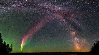 Scientists Discovered A New Type Of Aurora, And They Named It Steve - Video