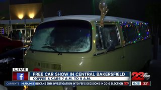 Hot rods and coffee warming up the streets of Bakersfield - Video