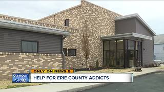 Detox center to open soon in Erie County