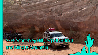 Schnebley Hill Jeep Badge of Honor and Mingus Mountain