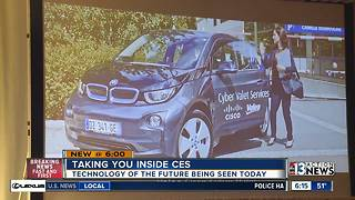 Companies show new technology ahead of CES 2018 - Video