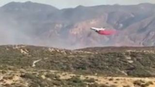 California's Manzanita Fire Nears 6,000 Acres, Evacuation Orders Expanded - Video