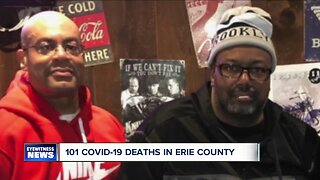 Covid-19 deaths rise to 101 in Erie County