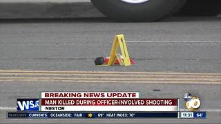 Witness describes incident that escalated into officer-involved shooting in Nestor
